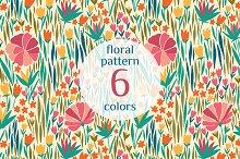 6 Floral Patterns