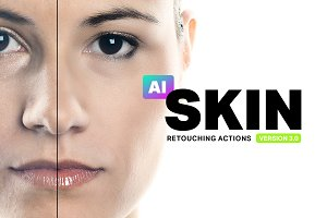 Skin 3.0 - 34 Retouching Actions