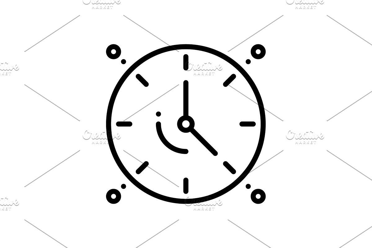 Dials clock icon
