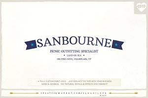Sanbourne: A Nautical Logo
