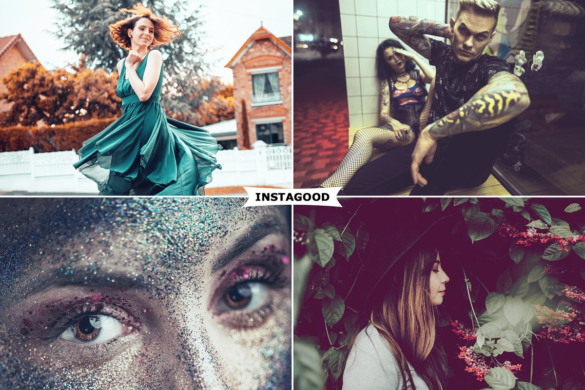4 Instagood Photoshop Actions