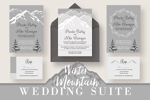 Winter Mountain Wedding Suite