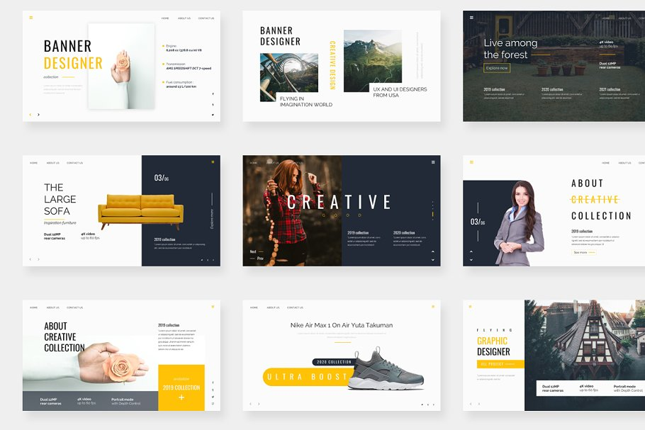Genox Premium Powerpoint Template in PowerPoint Templates - product preview 2