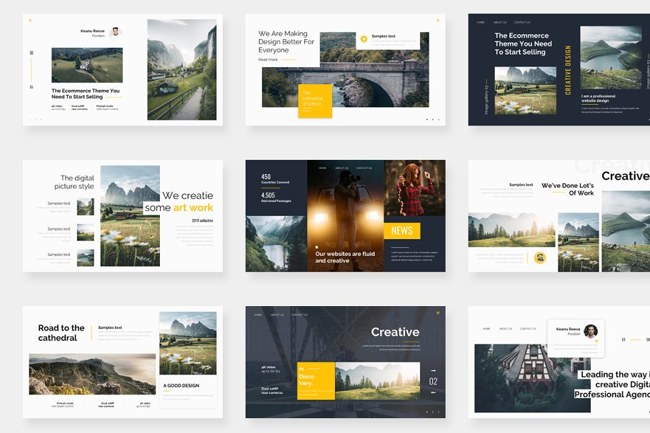 Genox Premium Powerpoint Template in PowerPoint Templates - product preview 5