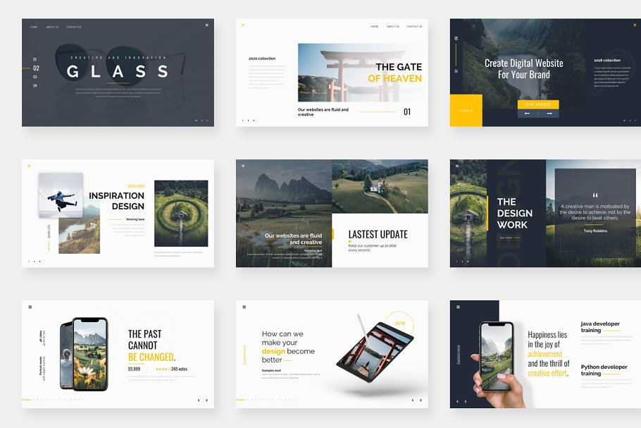 Genox Premium Powerpoint Template in PowerPoint Templates - product preview 6