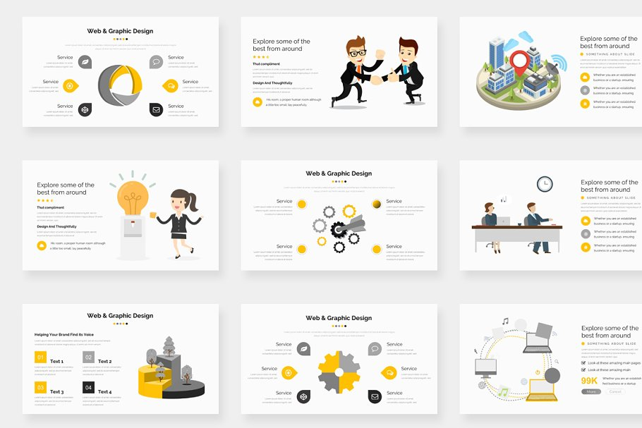 Genox Premium Powerpoint Template in PowerPoint Templates - product preview 10