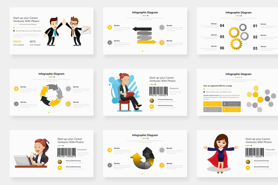 Genox Premium Powerpoint Template in PowerPoint Templates - product preview 11