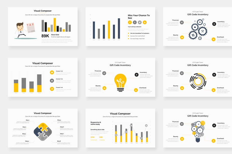 Genox Premium Powerpoint Template in PowerPoint Templates - product preview 13