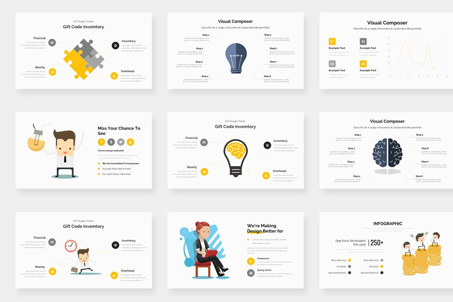Genox Premium Powerpoint Template in PowerPoint Templates - product preview 14