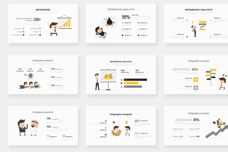 Genox Premium Powerpoint Template in PowerPoint Templates - product preview 16