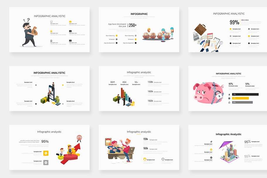 Genox Premium Powerpoint Template in PowerPoint Templates - product preview 17