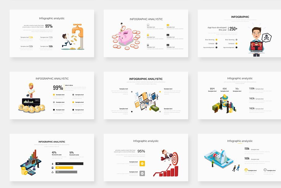 Genox Premium Powerpoint Template in PowerPoint Templates - product preview 18