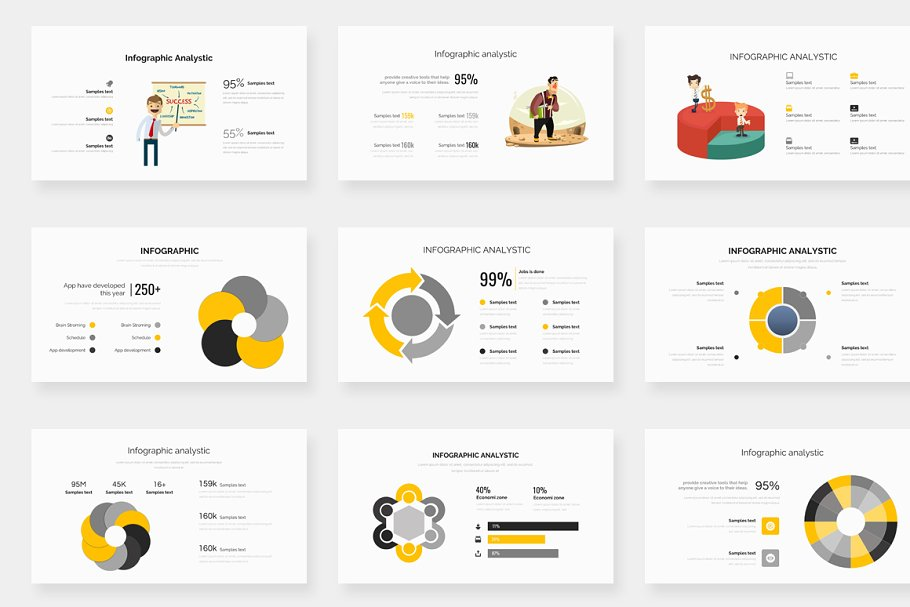 Genox Premium Powerpoint Template in PowerPoint Templates - product preview 19