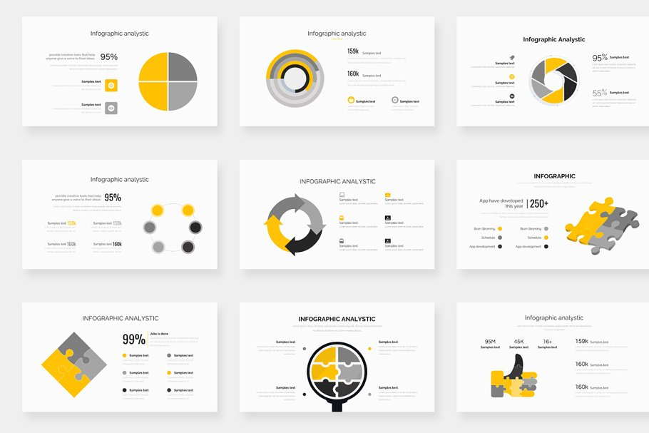 Genox Premium Powerpoint Template in PowerPoint Templates - product preview 21