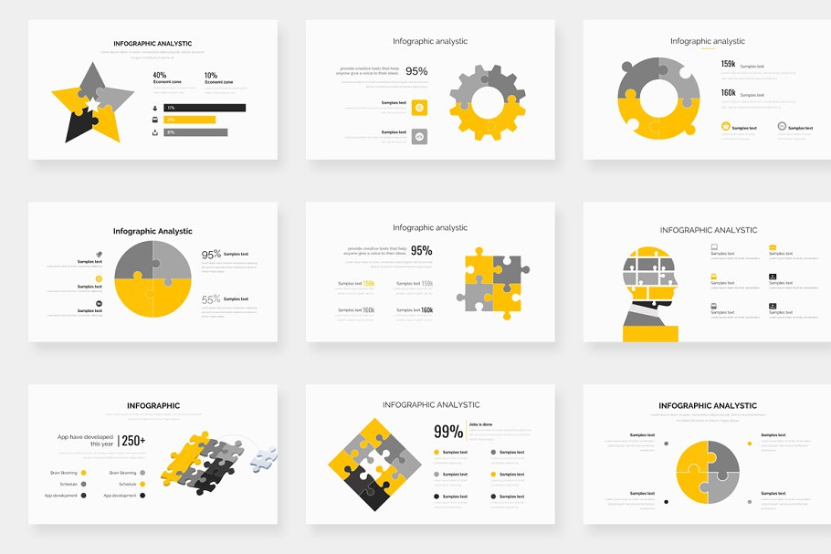 Genox Premium Powerpoint Template in PowerPoint Templates - product preview 22