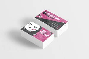 Skull Monster Business Card