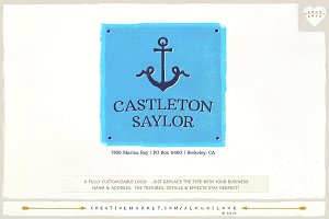 Castleton Saylor: A Nautical Logo
