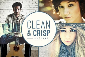 Clean & Crisp Photo Actions