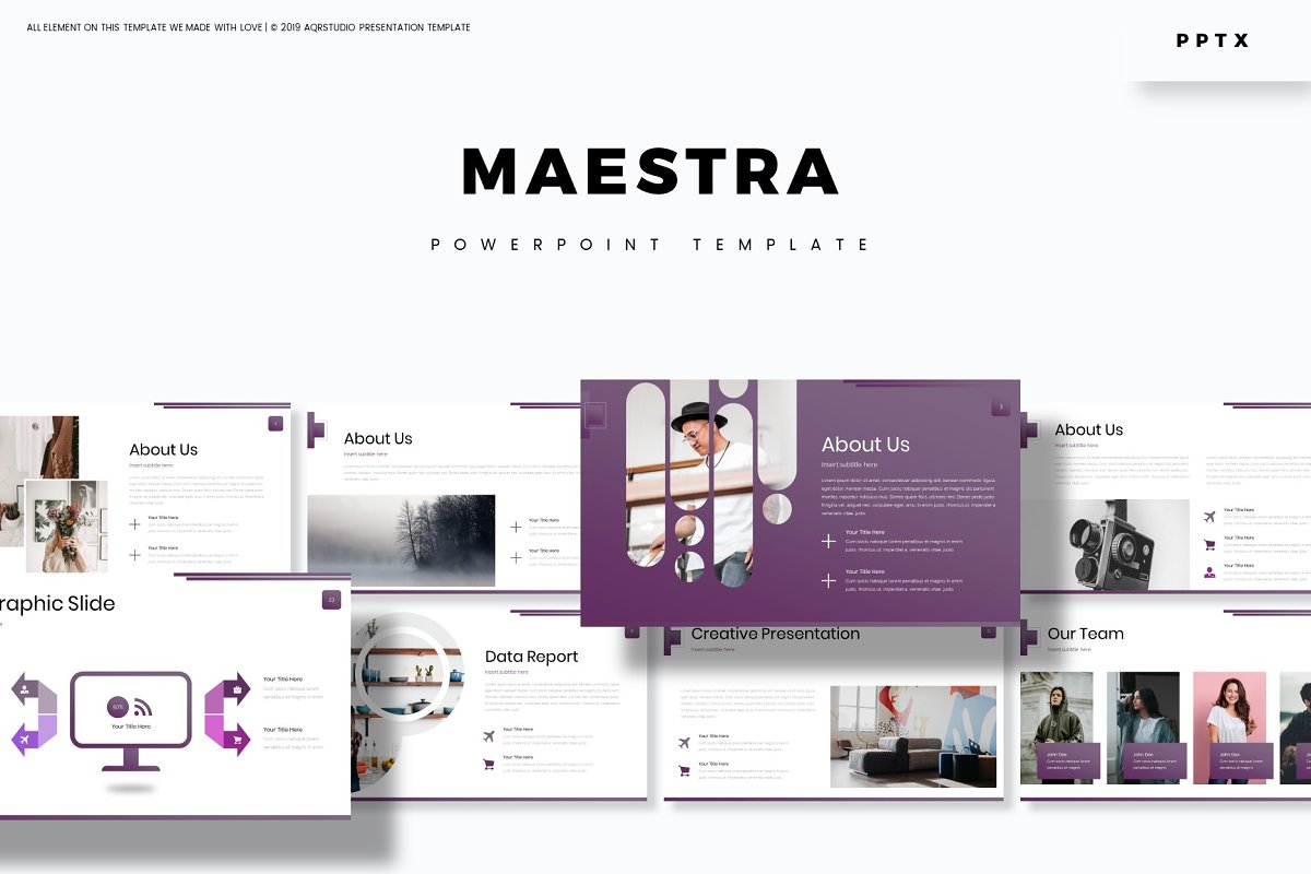 Maestra - Powerpoint Template