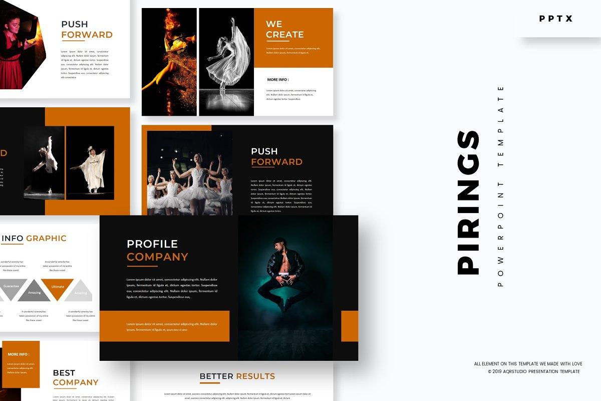 Pirings - Powerpoint Template