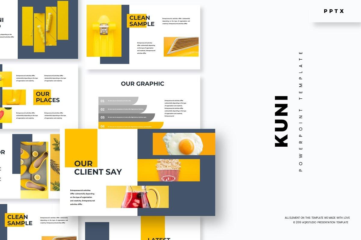 Kuni - Powerpoint Template