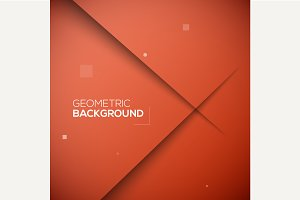 3D Abstract vector background