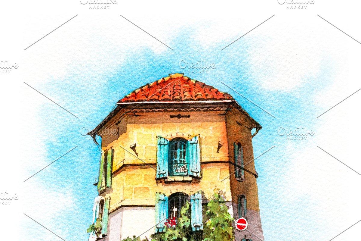 Provancal house, Arles, France
