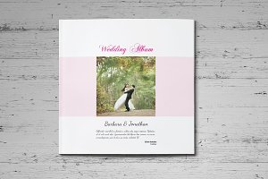 10x10 inch Wedding Album