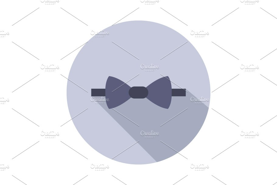 Bow tie icon in Graphics - product preview 8