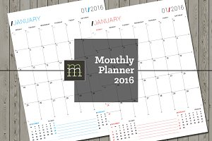 Monthly Planner 2016 (MP06)