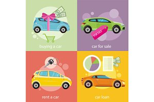 Buying car, Rent and Car Loan