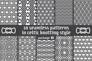 10 celtic patterns. Package 6