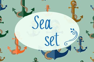 Vector sea set