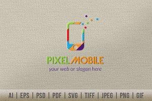 Pixel Mobile Logo