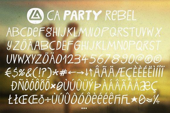 CA Rebel Party Rebel