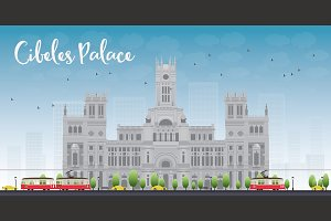 Cibeles Palace Madrid Spain