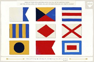 Nautical Flags: Colorful Alphabet