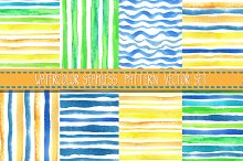 Watercolor seamless pattern.Vector