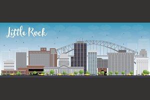 Little Rock skyline