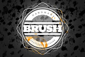 Handmade Brush Pack #2 for Photoshop