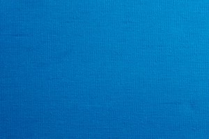 Bright blue canvas background