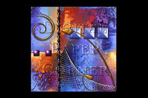 Digital Paper Abstract Painting 2