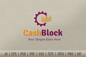 Cash Block Logo