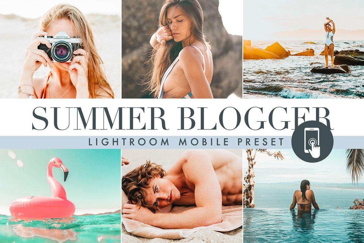 Summer Lightroom Mobile presets