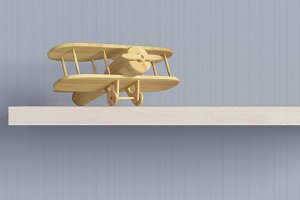 wood airplane
