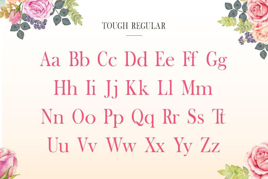 Tough Serif Font