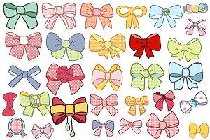Bows clip-art
