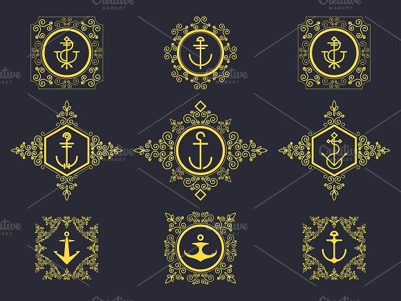 Set Luxury Logos