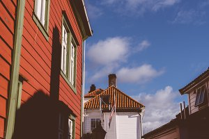 Nordic Architecture in Summer Light