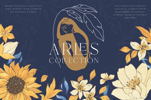 43344bda Modern Floral Illustrations &Texture ~ Illustrations ~ Creative Market